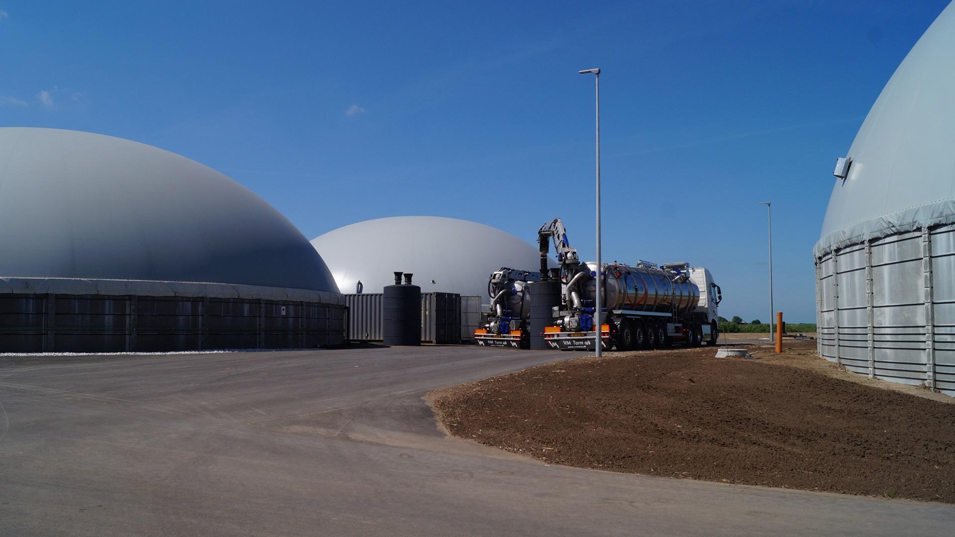 Biogaz în Vraa, Danemarca