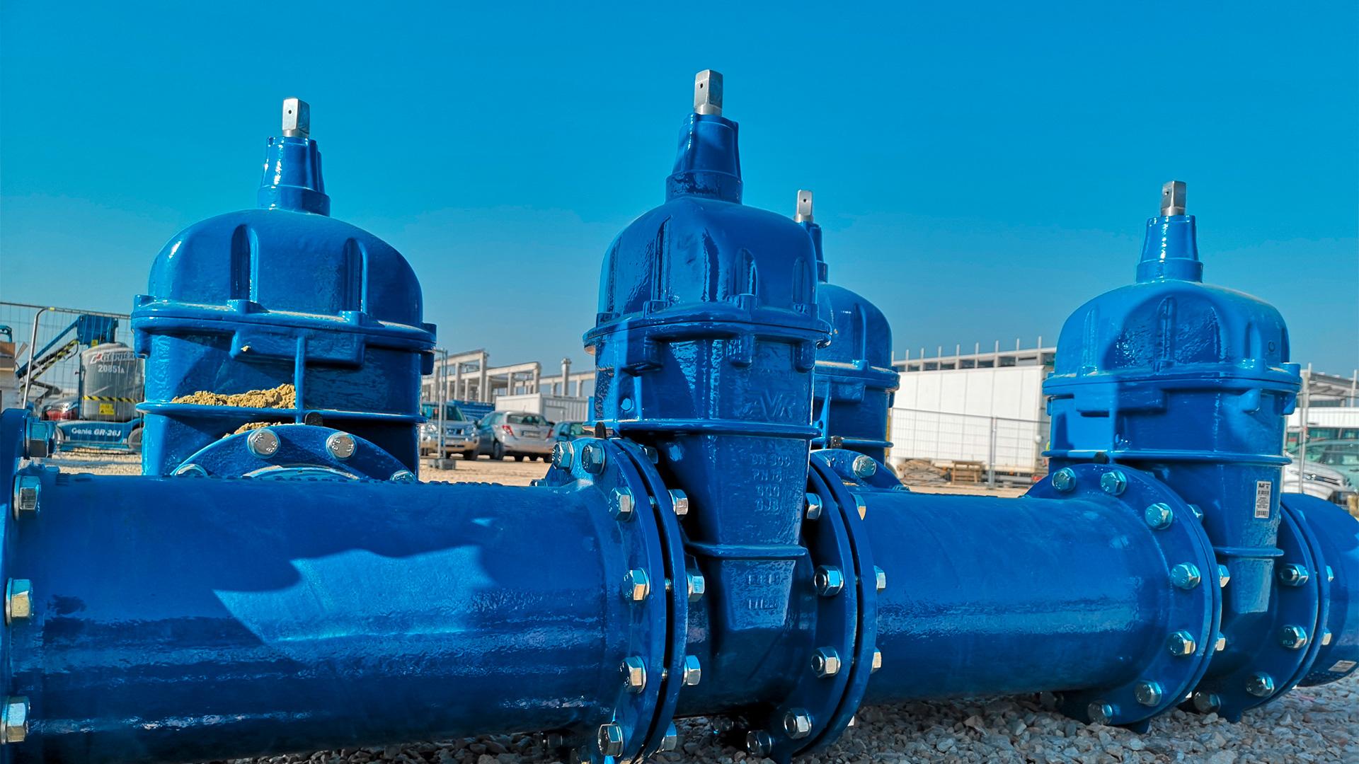 Produse AVK la fabrica de baterii din Ungaria
