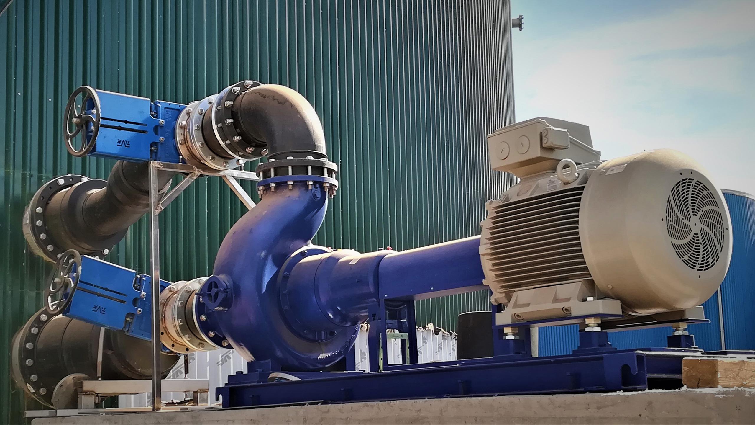Fabrica de biogaz in sudul Europei