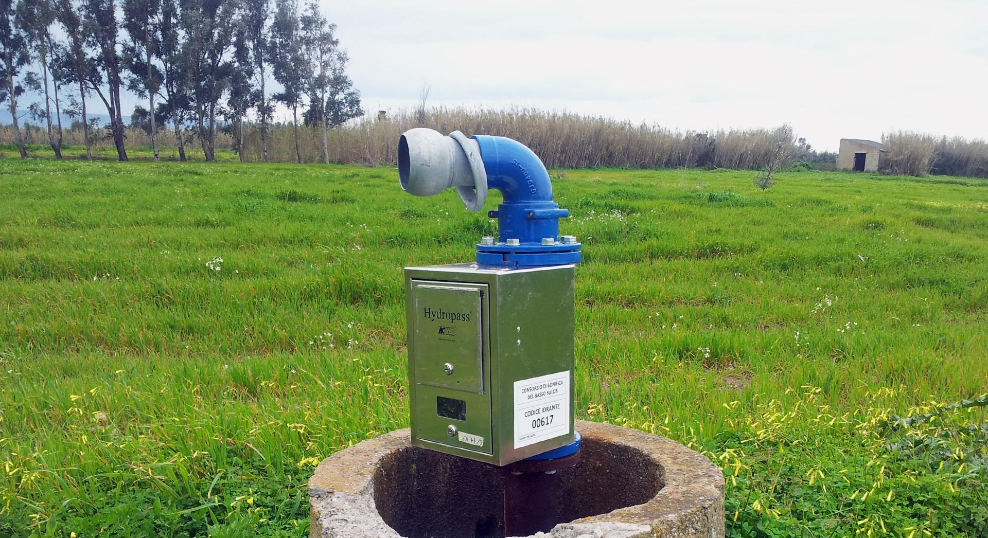 Hidrant pentru irigații cu sistem Hydropass