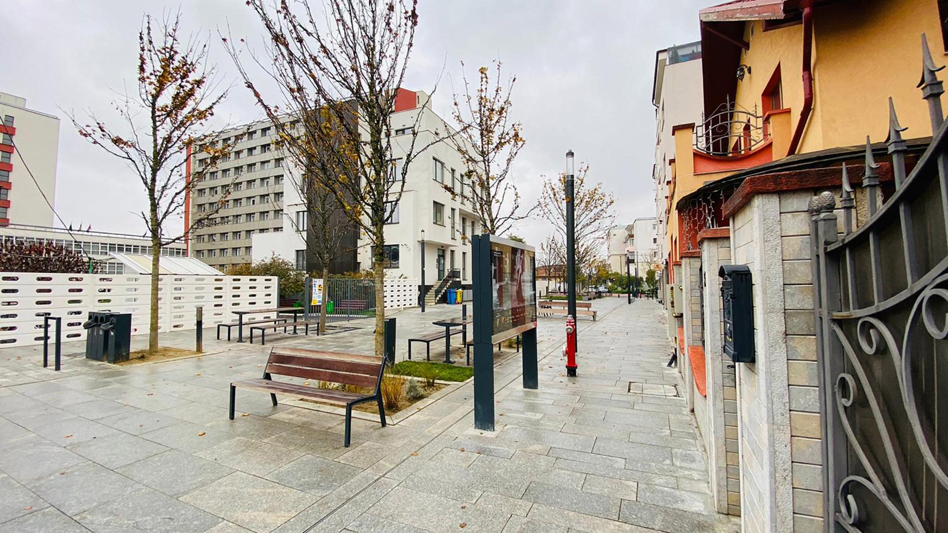 Primul smart street din România