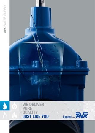 Broșura AVK despre produsele destinate alimentării cu apă