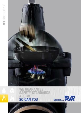 Broșura pentru distribuția gazului