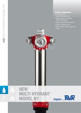 Hidrant model N7