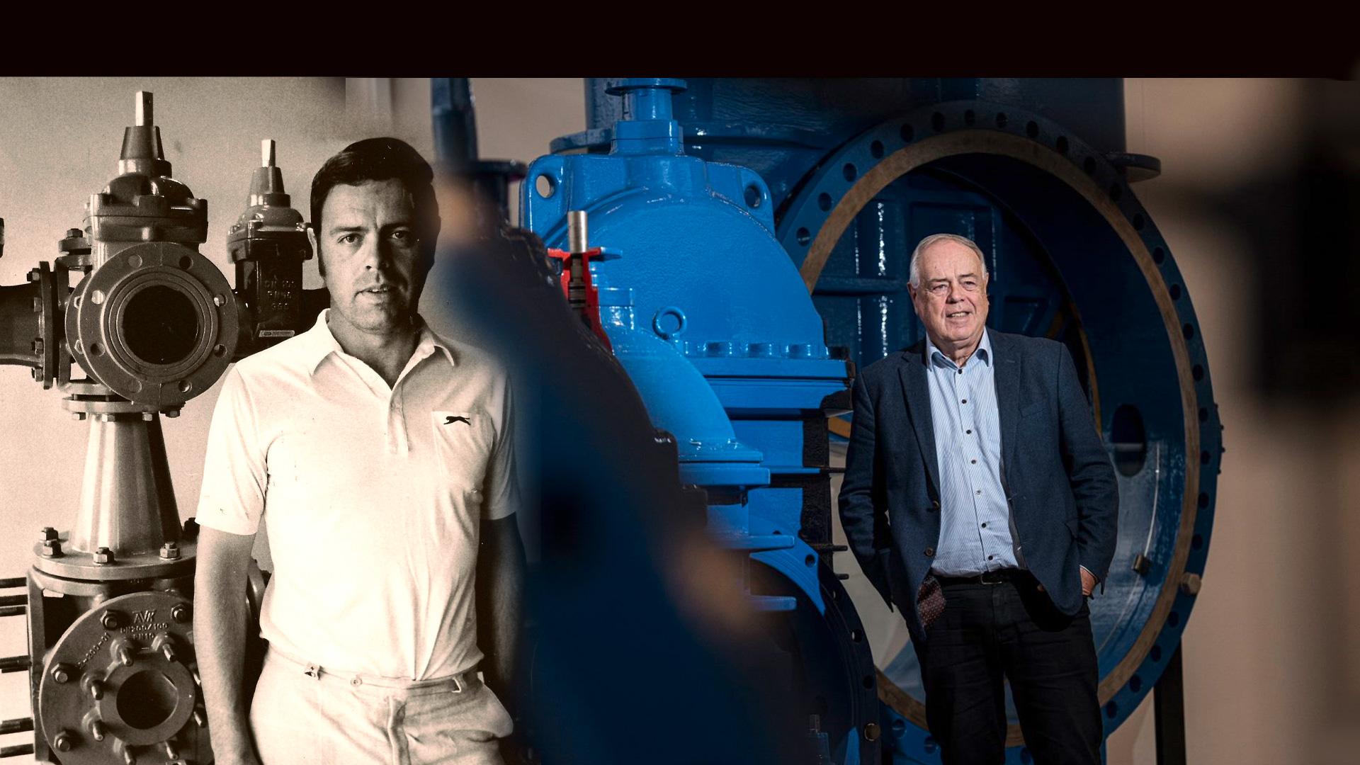 Aniversarea a 50 de ani de muncă pentru Niels Aage Kjær