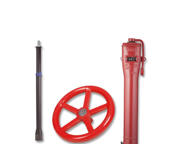 Accesorii pentru protecție exterioară la incendii