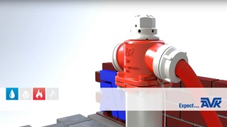 Animație pentru hidrantul N7 Multi